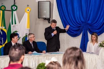 Registros do dia da Posse do Prefeito Ivo Roberti e Vice Gilberto Marsaro
