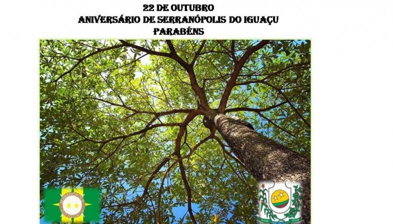 Parabéns Serranópolis do Iguaçu