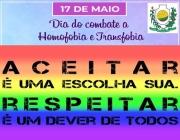 17 de Maio dia do Combate a  Homofobia