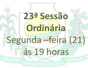 23ª Sessão Ordinária
